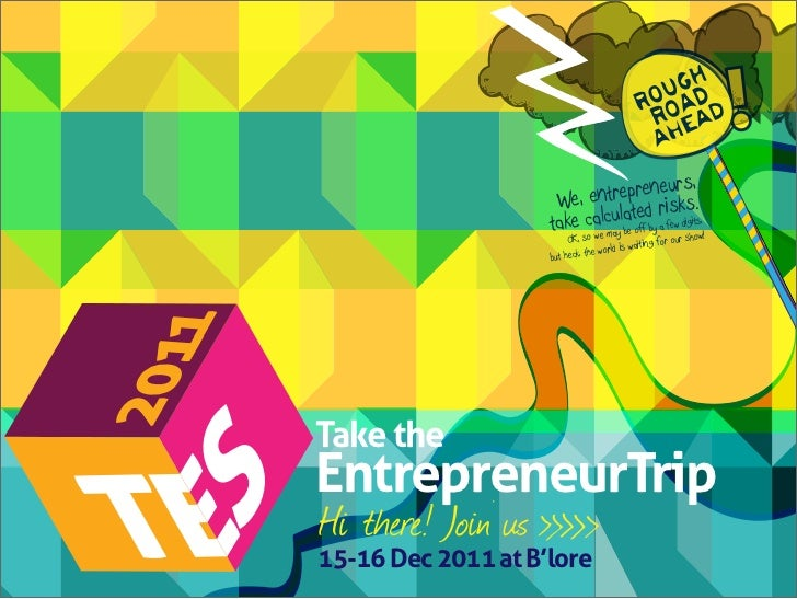 TiE Entrepreneruial Summit, 2011 - Sponsorship Brochure