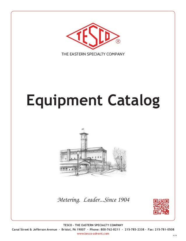 TESCO Product Catalog