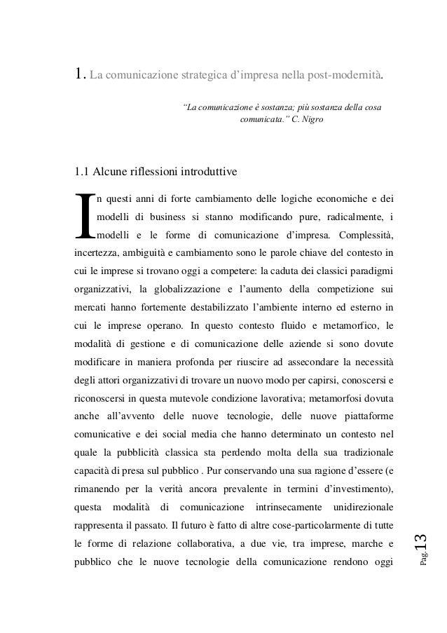 comunicazione d impresa pdf