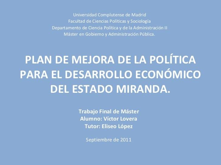 Tesina UCM 2011