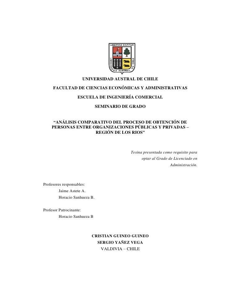 2265045-165735<br />UNIVERSIDAD AUSTRAL DE CHILE<br />FACULTAD DE CIENCIAS ECONÓMICAS Y ADMINISTRATIVAS<br />ESCUELA DE IN...