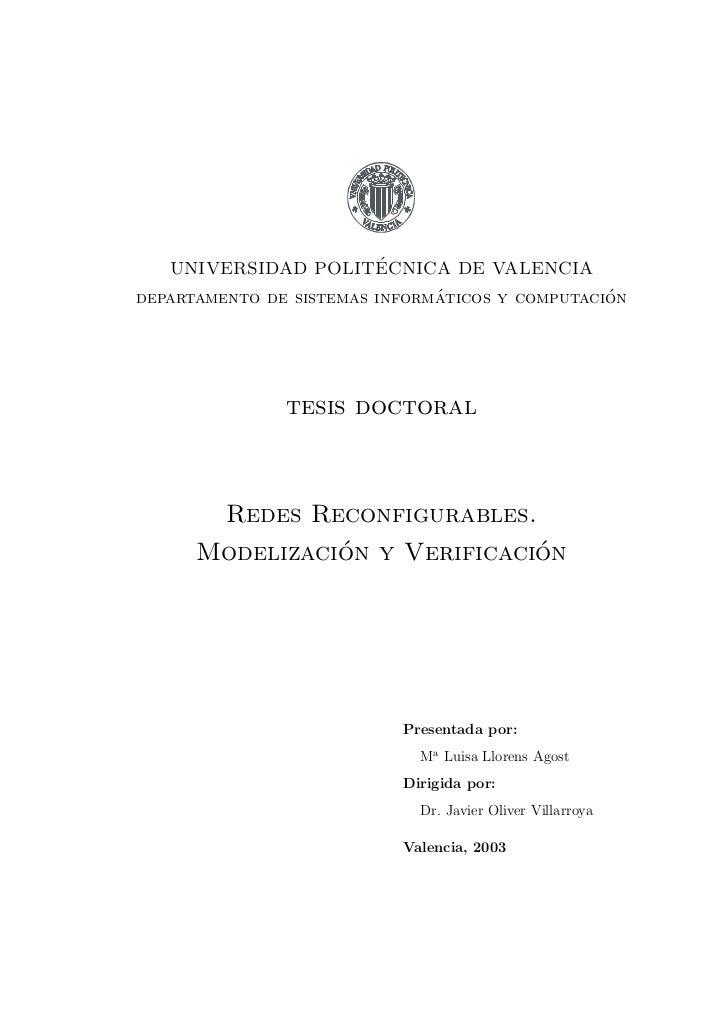 ´   UNIVERSIDAD POLITECNICA DE VALENCIA                               ´                 ´departamento de sistemas informat...