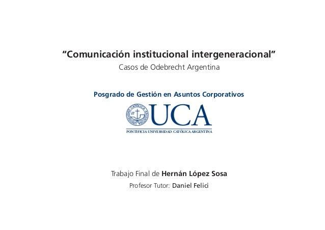 Comunicación Intergeneracional