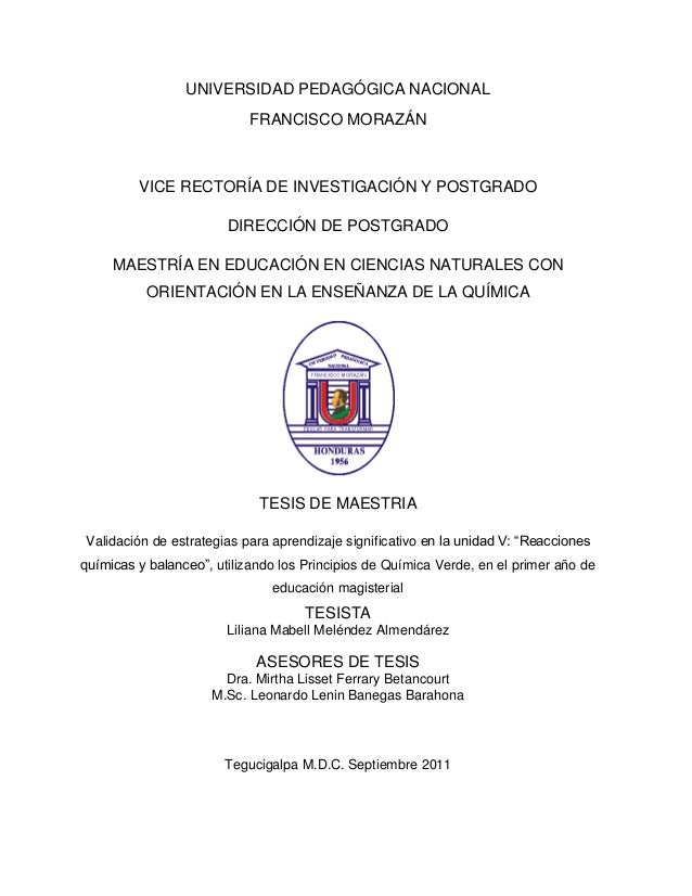 Tesis liliana mabel melendez asesorada por Leonardo Lenin Banegas Barahona