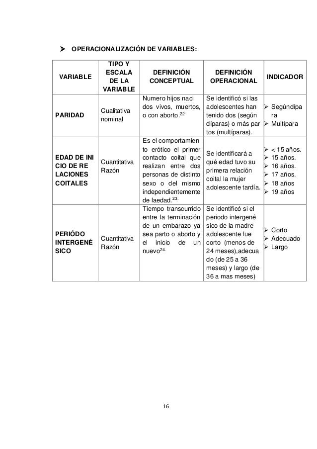 matriz de operacionalizacion de variables pdf