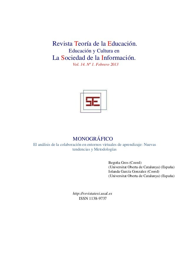 Tesi vol 14. nro 1. 2013