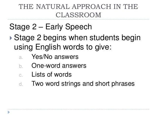 Speech techniques english