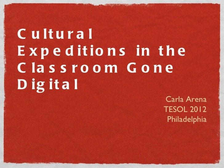 Culture Gone Digital