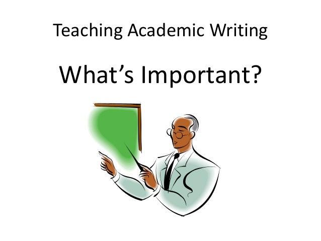 Writing academically