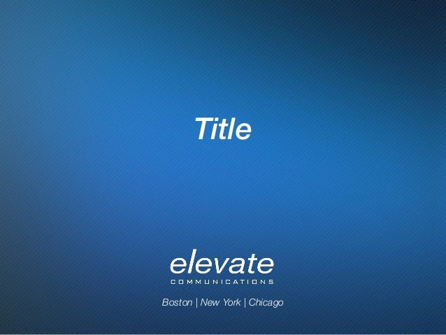 Boston | New York | Chicago  Title