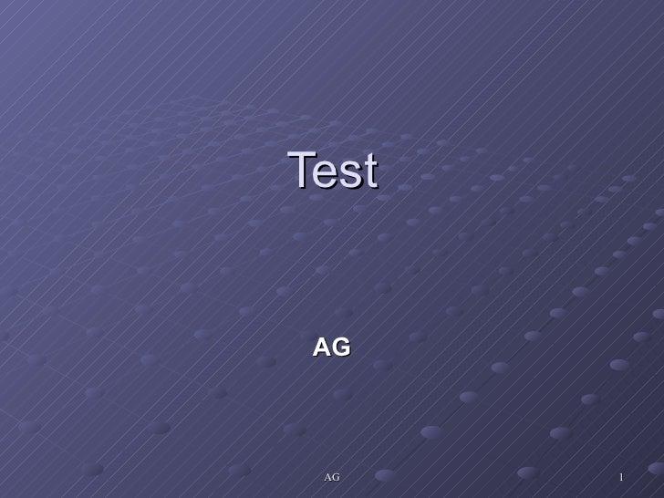 Test AG