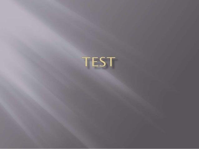  test