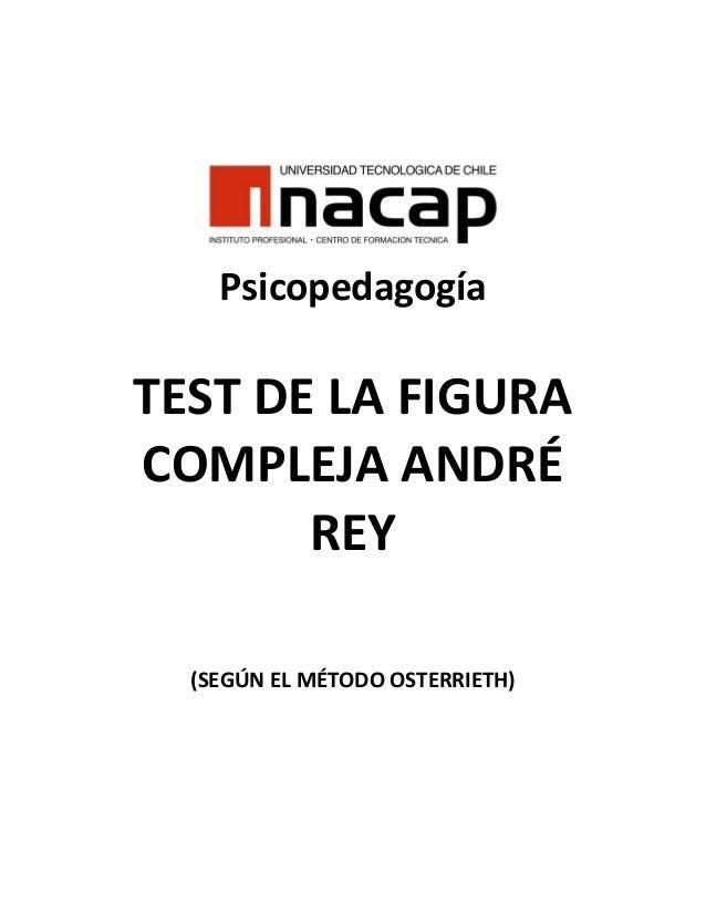 Test de-la-figura-compleja-del-rey