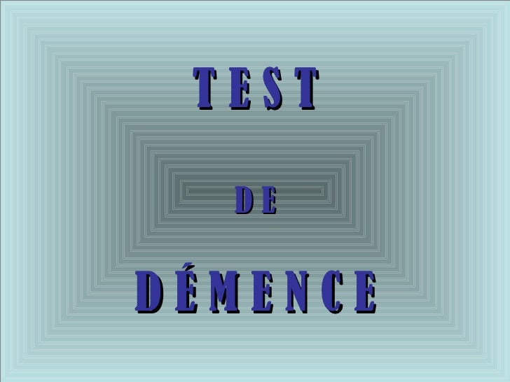 test intellectuel