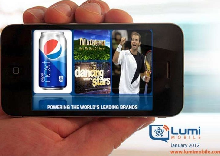 LumiLive Second Screen Platform Helps Broadcasters & ProducersBuild Strong Relationships with Audiences in Real Time • Lum...