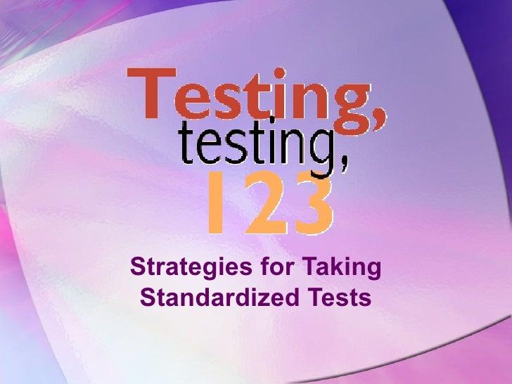 Test strategies by ilko