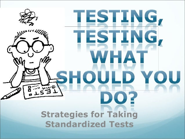 Strategies for taking essay tests