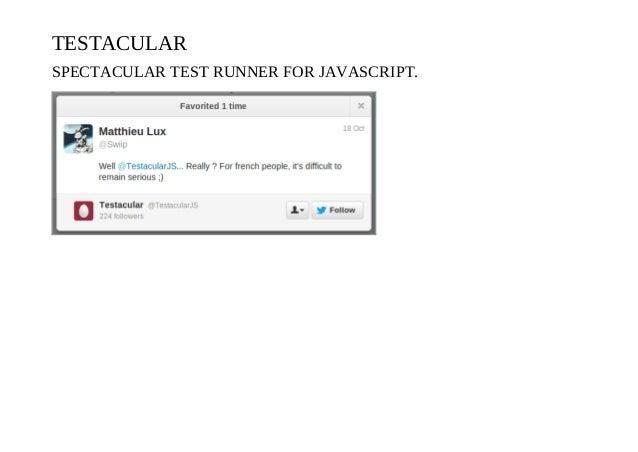Testacular
