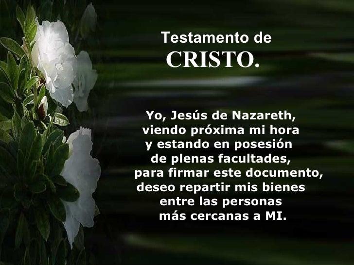 Testamentode Cristo