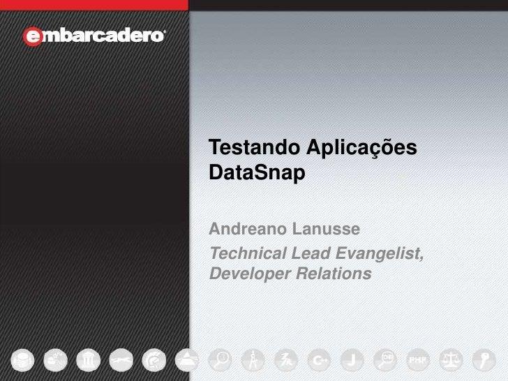Testando aplicações DataSnap