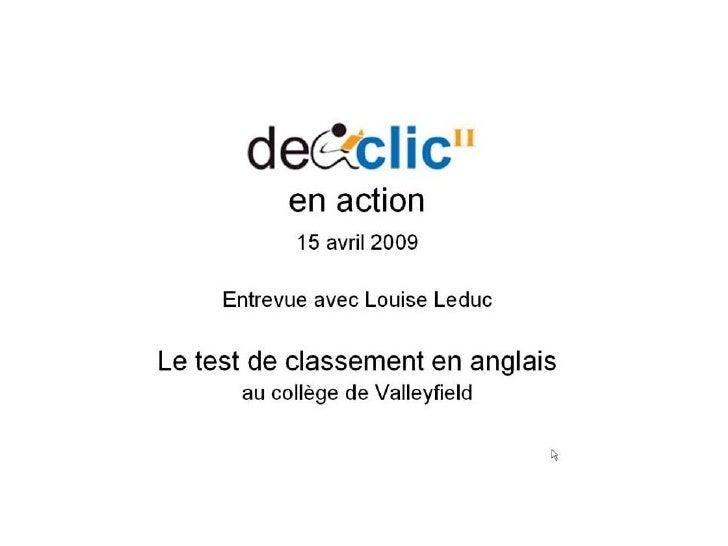 DECclic en action 2