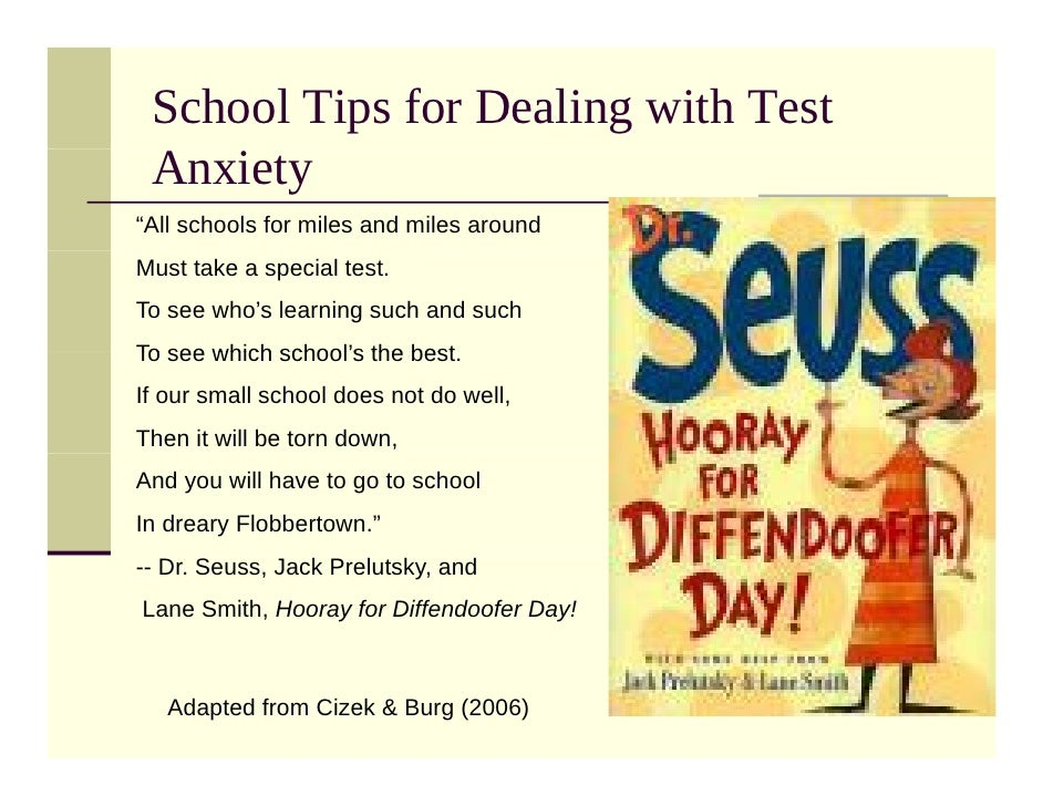 10 Ways to Overcome Test Anxiety