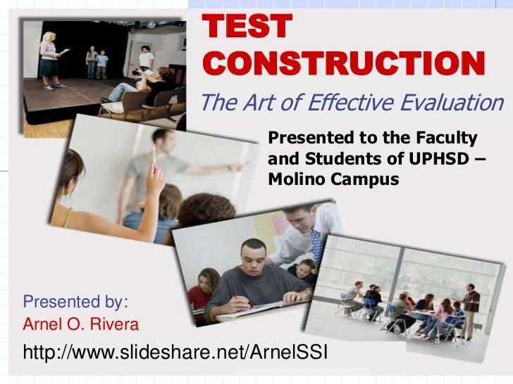 Test construction edited
