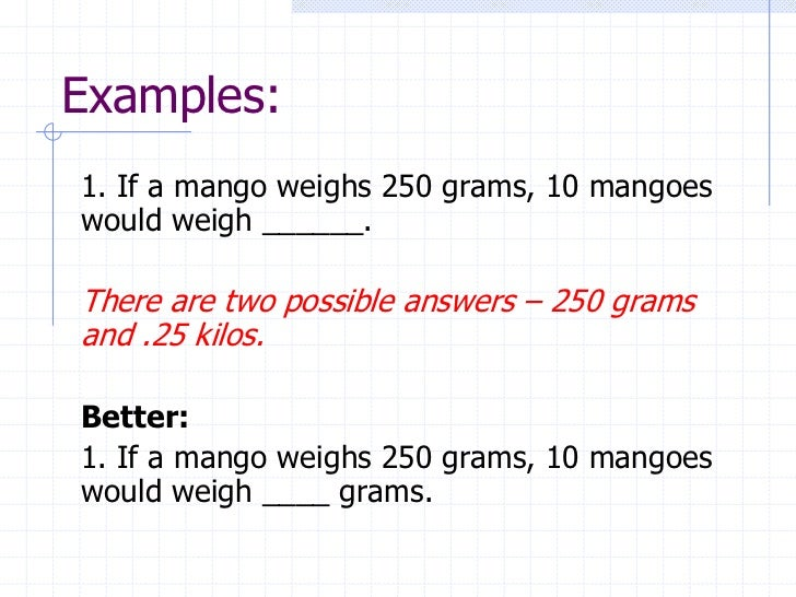 Scoring essay test items