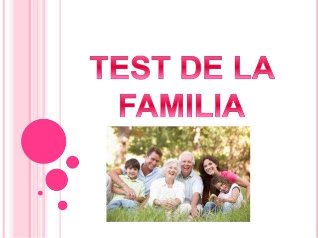 La administración de esta prueba puede realizarse indicando al niño que pinte a su familia o a una familia sin concretar ...