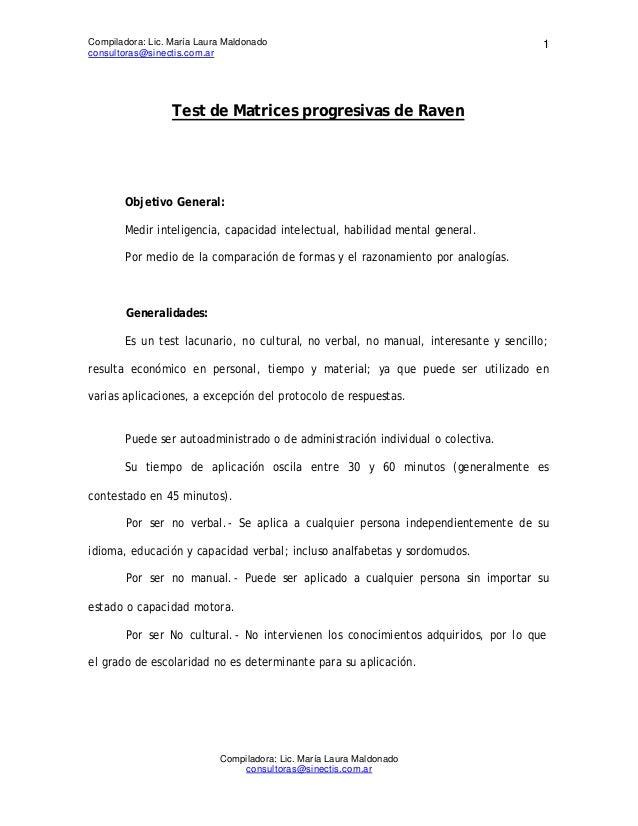 Compiladora: Lic. María Laura Maldonado                                               1consultoras@sinectis.com.ar        ...