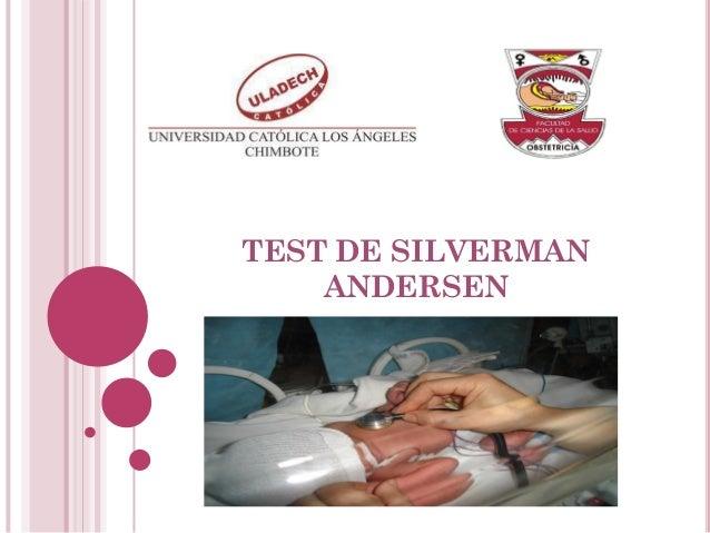 TEST DE SILVERMAN ANDERSEN