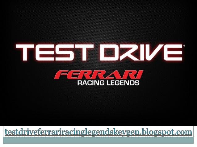 Test Drive Ferrari Racing Legends Crack DownloadTEST DRIVE: FERRARI RACING LEGENDS IS A RACINGVIDEO GAME DEVELOPED BY SLIG...