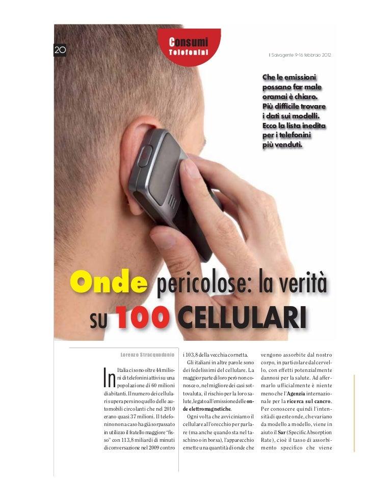 Consumi20                                        Telefonini                                       Il Salvagente 9-16 febbr...