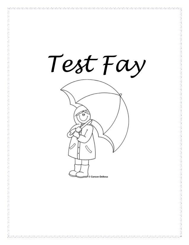 Test fay
