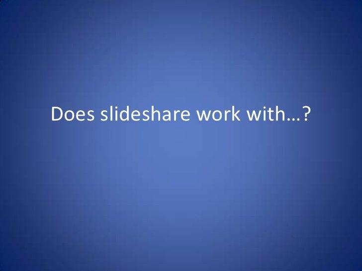 Test For Slideshare