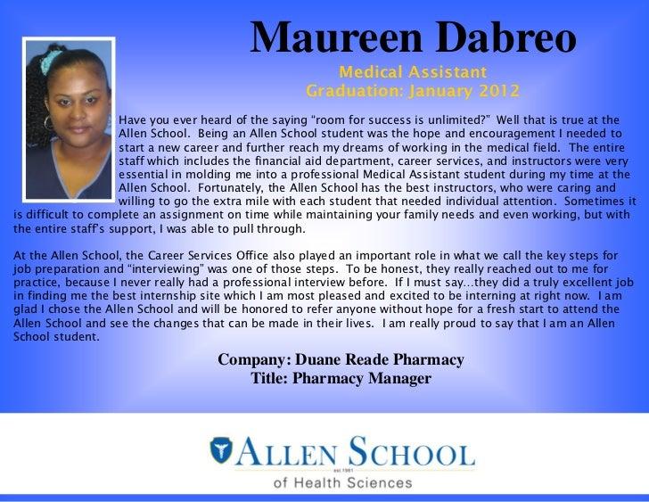 Maureen Dabreo                                                        Medical Assistant                                   ...
