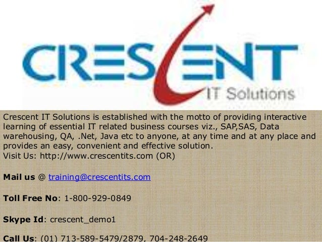 Crescent IT Solutions Received Valuable Feedback on QA Course from one of the Student