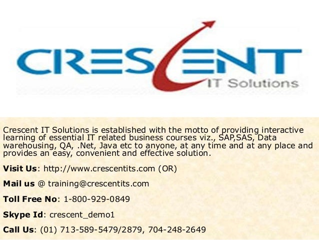 Crescent IT Solutions Received Valuable Feedback on BA Course from one of the Student