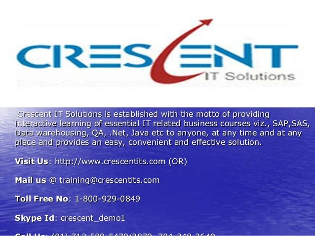 Crescent IT Solutions Received Valuable Feedback on QA Course