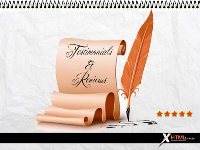 XHTML Champs Reviews and Testimonials