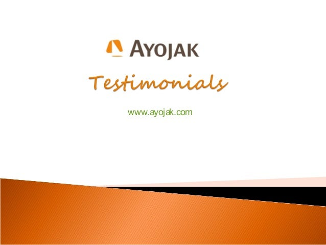 What Our Clients Say? [Testimonials]