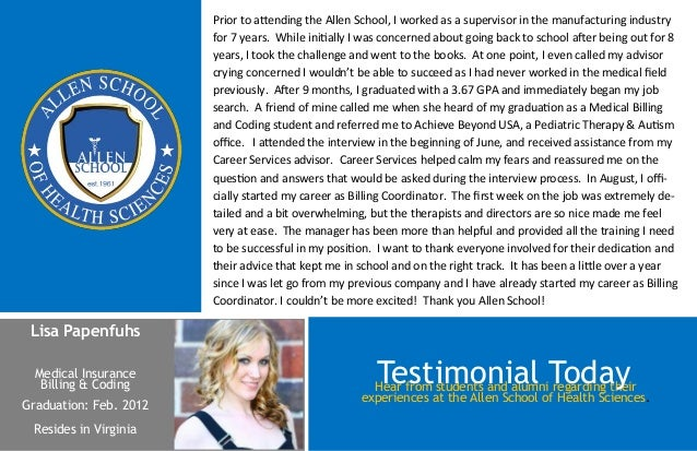 Prior to attending the Allen School, I worked as a supervisor in the manufacturing industry                        for 7 y...