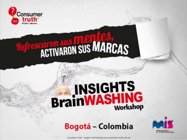 Insight Brainwashing Workshop Bogota - Testimonios de Participantes