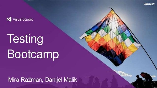 TestingBootcampMira Ražman, Danijel Malik