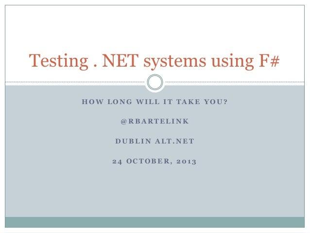 Dublin ALT.NET session Thu Oct 24 2013
