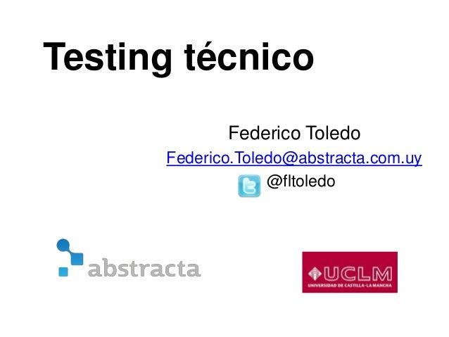 Testing técnico - Automatización en web y mobile para pruebas funcionales y performance