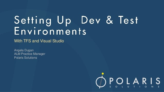 Microsoft Testing Tour - Setting up a Test Environment