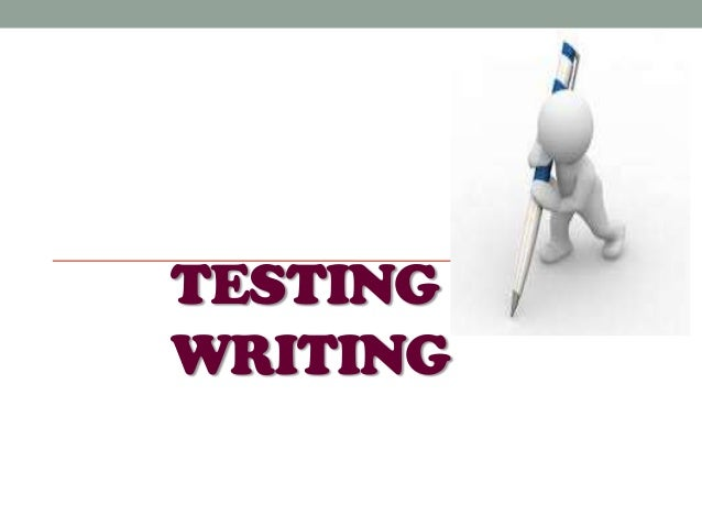 TESTINGWRITING