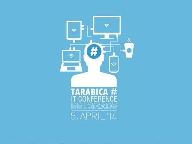 tweet #tarabica14