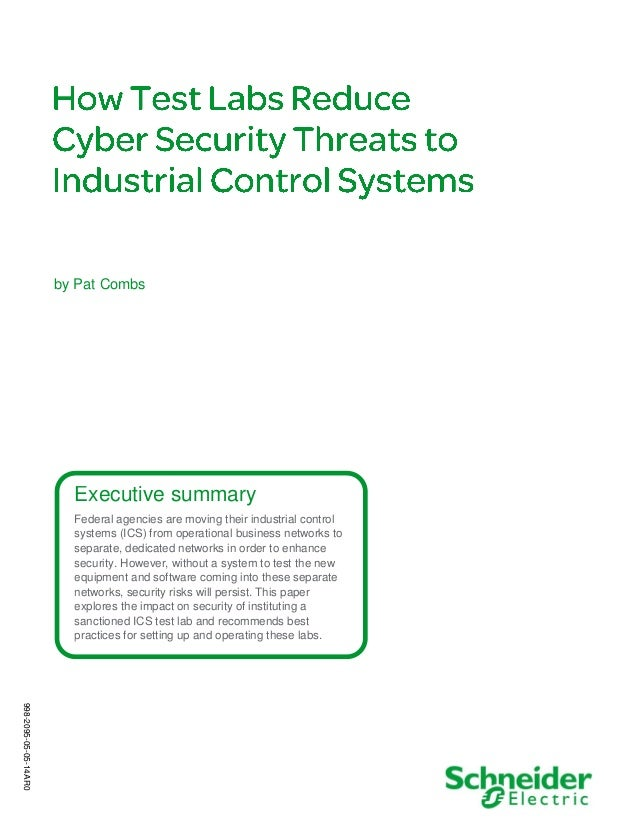 Executive summary Federal agencies are moving their industrial control systems (ICS) from operational business networks to...